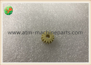 China Original ATM Machine Parts , Yellow Plastic 15T Gear Couple 1 - 3 months Warranty supplier