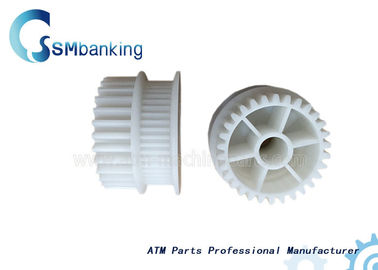 China Durable Hitachi ATM Spare Parts Plastic White 48T Gear 4P008815-001 supplier