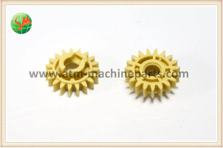 17 Tooth Yellow Gear 01750041950 used in Wincor Nixdorf V module CMD-V4