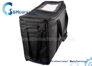 China Automated Teller Machine Components Black Cassette Bag With Four Cassette factory